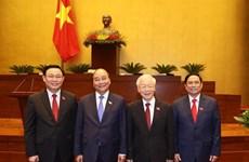 外国领导人发来贺电 祝贺越南新一届领导人