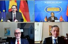 越南-德国战略指导小组第六次会议以线上方式召开