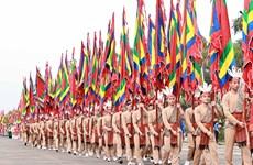 雄王祭祖仪式农历三月初十在雄王庙举行  越南各地隆重举行雄王祭祖仪式