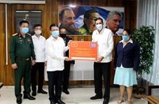 越南共产党致贺电、贺函和贺礼祝贺古巴共产党第八次代表大会成功召开