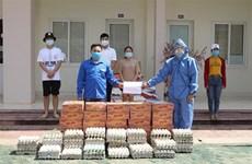 新冠肺炎疫情:旅居老挝琅勃拉邦越南人同地方当局携手应对疫情