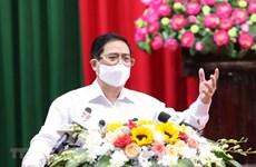 越南政府总理范明政:选民的意见是候选人继续完善其行动计划的基础