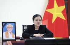 越南人民的好朋友——吉特什·夏尔马吊唁仪式以线上方式举行