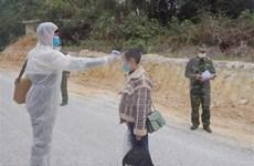 越南边防部队严厉打击非法入境 严防境外疫情输入