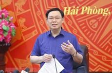 国会主席王廷惠:海防市要着力做好国会和各级人民议会换届选举工作