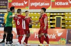 越南队将与黎巴嫩队角逐争夺2021年世界室内五人制足球锦标赛入场券