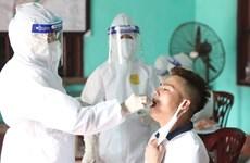新冠肺炎疫情:15日早上越南新增病例20例
