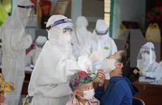 21日晚越南新增57例本地新冠肺炎确诊病例