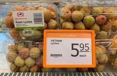 越南荔枝在新加坡FairPrice连锁超市上架