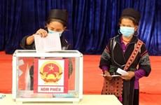 越南国家选举委员会办公室主任: 选举圆满成功