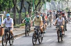疫情期间骑行健身成为新趋势