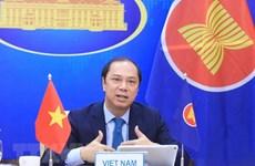 东盟-中国合作:强调在解决地区紧迫性问题中的承诺
