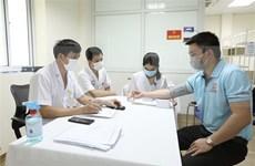240余名志愿者在Nano Covax疫苗三期人体试验接受注射