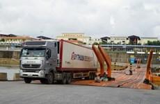 广宁省芒街口岸进出口贸易大幅增长