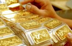 6月16日上午越南国内黄金价格保持在5700万越盾以上