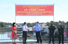 朔庄省帮助在柬越裔高棉人渡过疫情难关