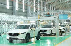 今年前5个月中国原装汽车涌入越南市场