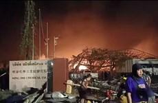 泰国曼谷郊区一化工厂发生爆炸 造成至少21人受伤