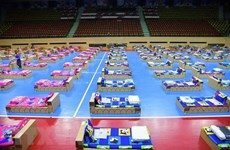 新冠肺炎疫情:泰国增加野战医院的病床 老挝监控入境者的行程