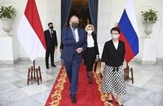 俄外长:俄罗斯优先发展与东盟的关系