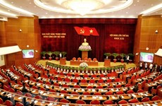 越共第十三届中央委员会第三次全体会议落下帷幕