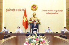 越南国会常委会召开第58次会议