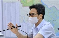 越南政府副总理武德儋:九龙江三角洲地区各省应对疫情丝毫不能掉以轻心