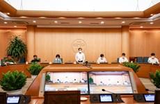 新冠肺炎疫情:河内市设立22个省际疫情防控检查站