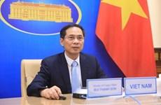 越南外交部部长裴青山出席不结盟运动部长级会议