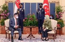 新加坡与越南加强合作 扩大投资范围