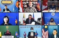 第18次东盟与加拿大对话会以视频形式举行