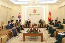 越南与韩国和印度加强防务合作