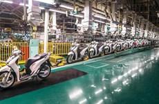 2021年第二季度越南摩托车销量增长近29%