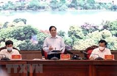 """范明政总理:将河内建成不愧于千年文化底蕴、""""致力于和平城市""""的首都"""