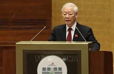 越共中央总书记阮富仲:不断提升人民最高代表机构的作用和地位