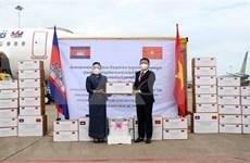 范明政向柬埔寨首相洪森致感谢信 高度评价柬方对胡志明市抗疫工作的援助