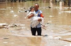 越南政府总理范明政就河南省暴雨洪灾向中国国务院总理李克强致慰问电
