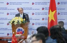 英国对越南国际地位不断提高给予高度评价
