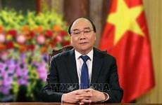 越南国家主席阮春福致信祝贺2020年东京奥运会和东京残奥会