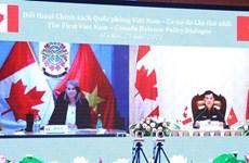 越南与加拿大第一次国防政策对话以视频方式举行