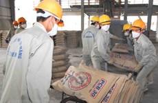 越南水泥和熟料出口额增长32%