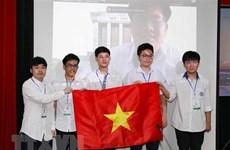 2021年国际物理学奥林匹克竞赛:越南学生夺得三金两银