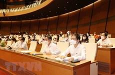 第十五届国会第一次会议:提交选举国家主席的提名名单
