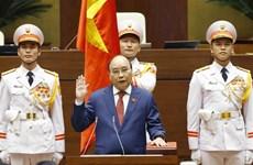 第十五届国会第一次会议:阮春福同志再次当选国家主席职务