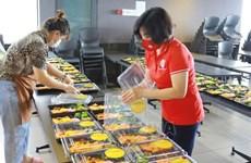 越南祖国阵线中央委员会向南部各省市提供170万份餐食