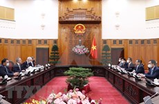 越南政府总理范明政会见瑞士联邦副总统兼外交部长卡西斯