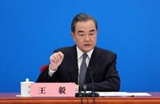 """中国外长王毅:中方愿同东盟国家尽早达成有效、富有实质内容的""""东海行为准则"""""""