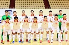 越南五人制足球队争取的目标是进入 2021 年国际足联五人制足球世界杯八强