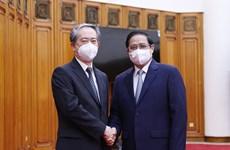 政府总理范明政会见越南驻中国大使熊波