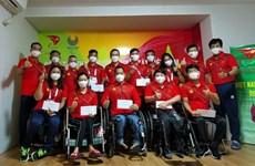 2020年东京残奥会:越南运动员已做足赛前准备